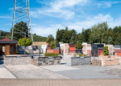 Ausstellungen Außenbereich Parkplatz