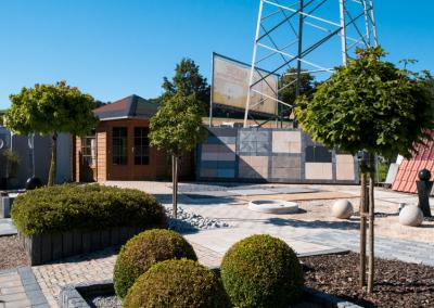 Ausstellungen Außenbereich Gartenhäuschen