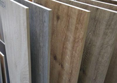 Ausstellungen Innenbereich Muster Holzfliesen