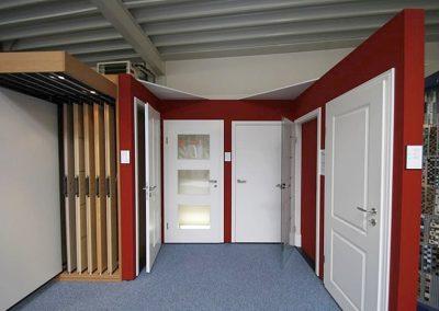 Ausstellungen Innenbereich Mustertüren weiß