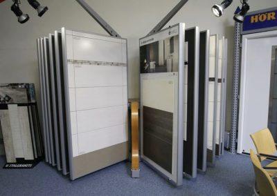 Ausstellungen Innenbereich Wandfliesen Fächer