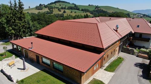 Ansicht Dach Bauenhof