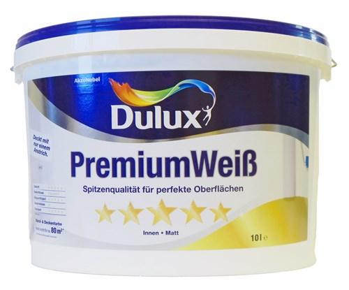 Foto Dulux PremiumWeiss 10 Liter