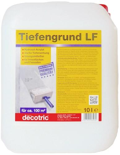 Foto decotric Tiefengrund LF, 10 Liter Kanister